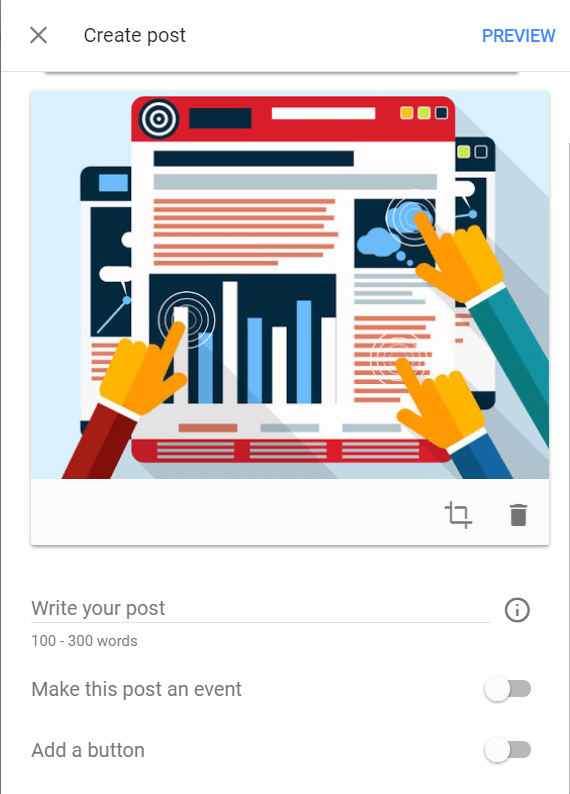 Create a Google My Business Post