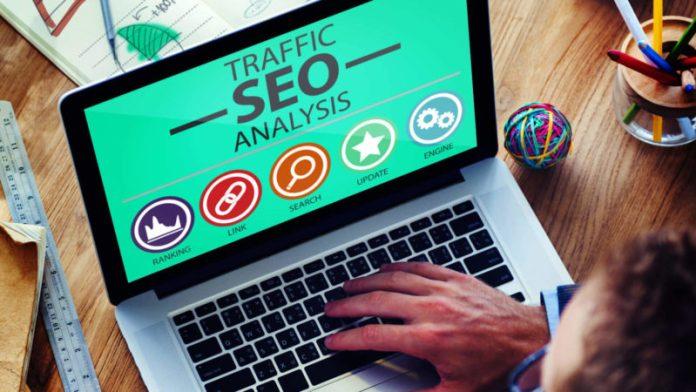 SEO traffic analysis