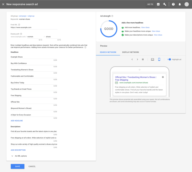google-ads-create-responsive-search-ad-preview-670x600 Google's somewhat-new guide to totally excellent ads
