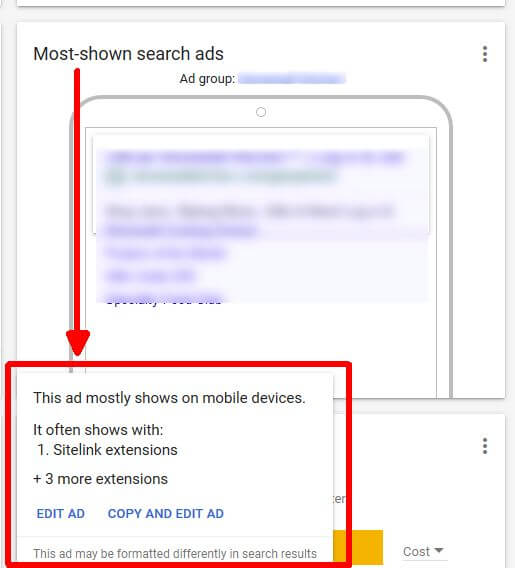 google-ads-overview-page-edit-ads Now you can make edits to keywords, ads, campaigns, bids right from the Google Ads Overview page