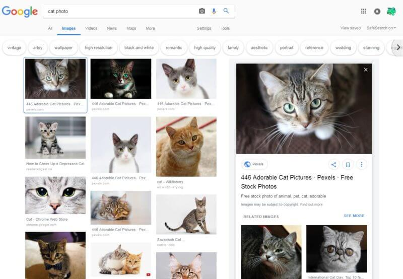 google-images-design-update-800x554 Users spot redesigned Google Image search results design
