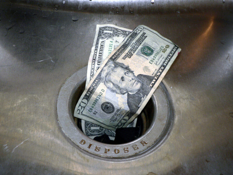 money-down-the-drain-shutterstock_1703333-800x600 Why following SEO trends guarantees SEO budget waste.