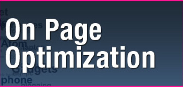 On page optimization technique