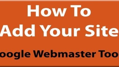 How to add your website in webmaster tool
