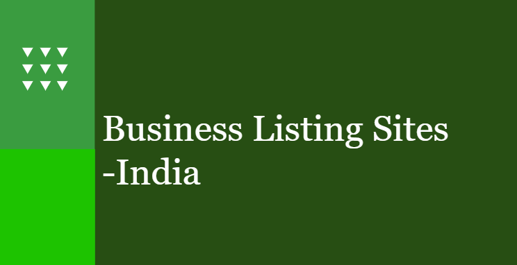 Business Listing Sites India