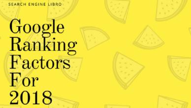 google ranking factor for 2018