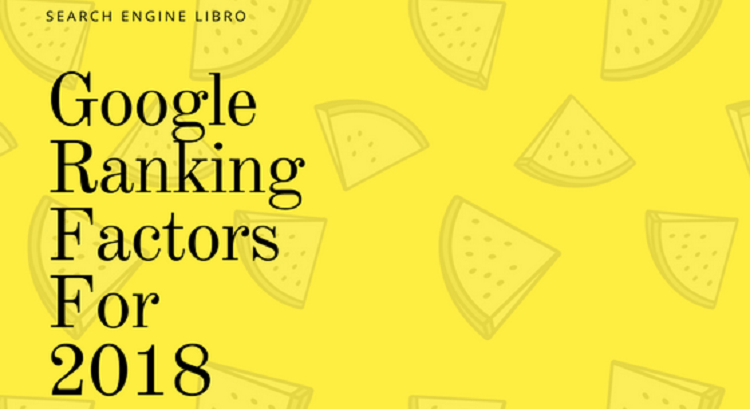 google ranking factor for 2018