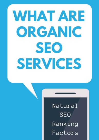 what are organic seo services