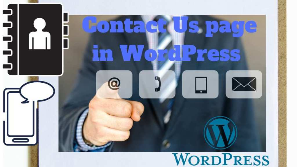 contact us page in WordPress
