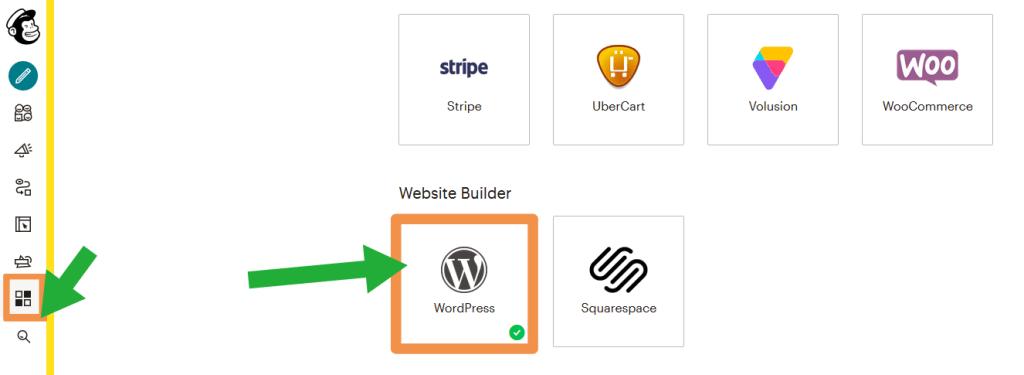 integrate Mailchimp with WordPress