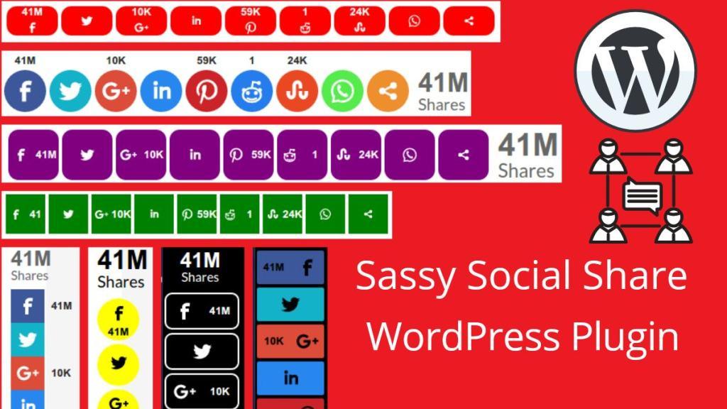sassy social share plugin for social buttons