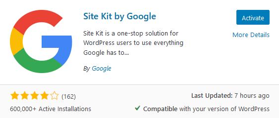 site kit plugin