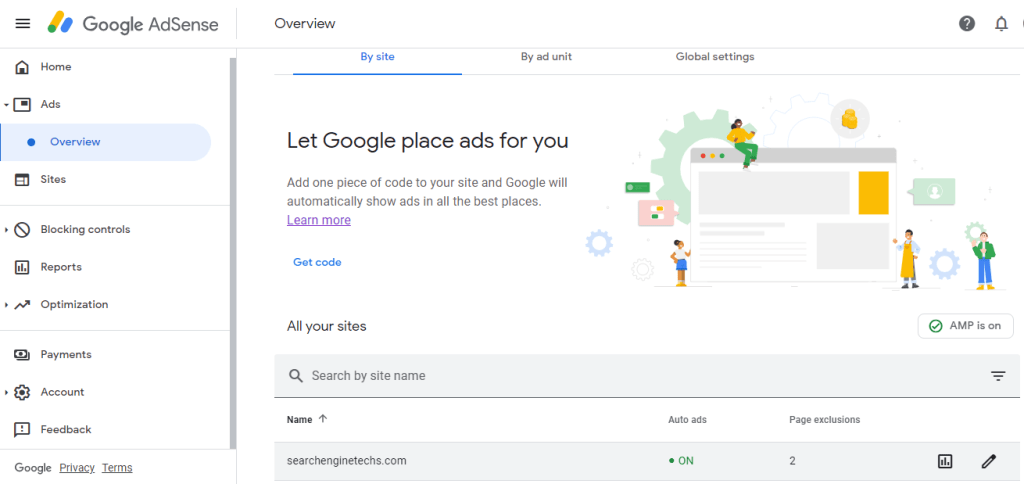 auto ads in Google AdSense