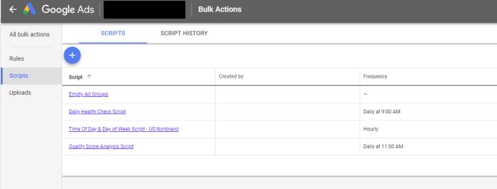 Example of Google Scripts