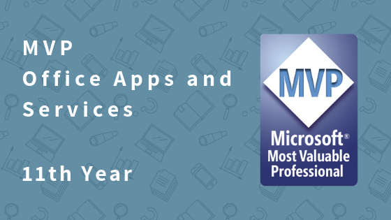 MVP Office Servers and Services – 11th Year