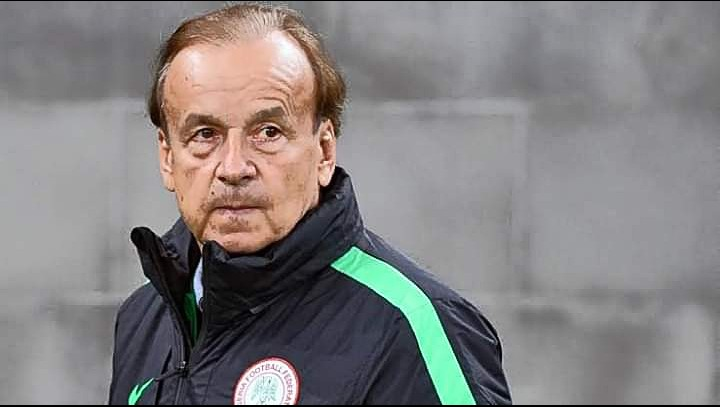 Super Eagles coach rules out possibility of using new players