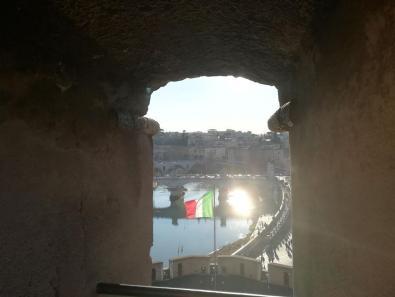 castel sant angelo roma scorci panorama