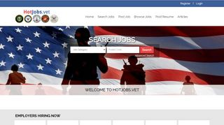 Hot jobs for Veterans, free job posting