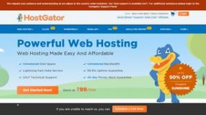 HostGator | Secure Shared Hosting | Cloud Hosting | VPS Hosting