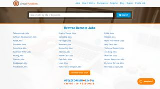 Virtual Vocations | Telecommuting Jobs | Remote Jobs