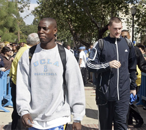 It all falls on Darren Collison now, as UCLA is sans Kevin Love