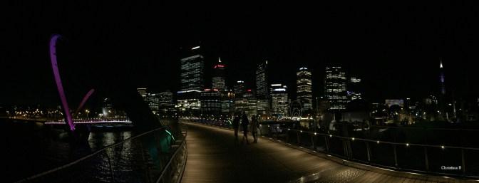 Panorama of Perth and Elizabeth Quay