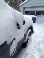 My poor truck :-)