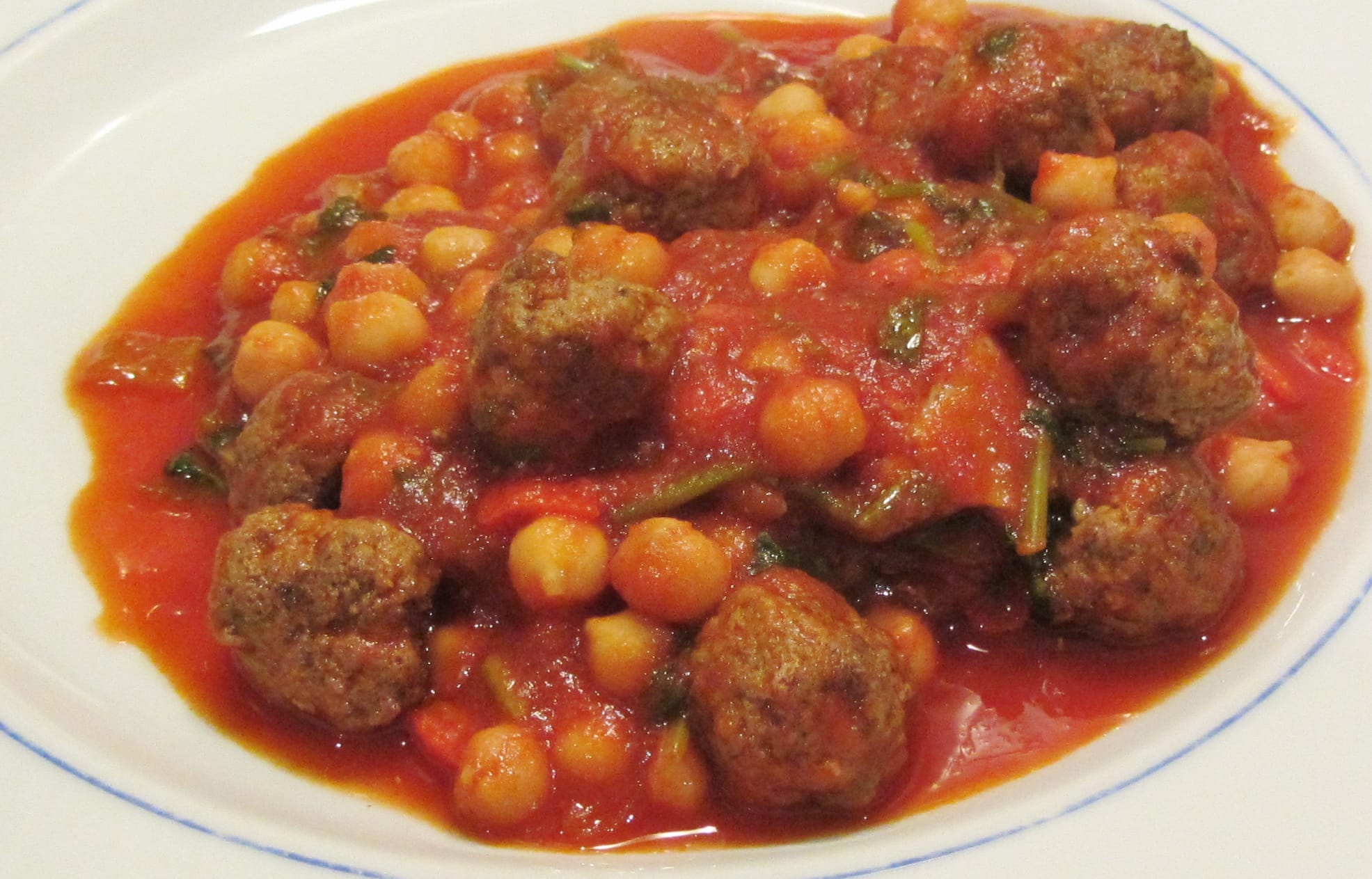 Lamb Meatballs - Searching for Spice