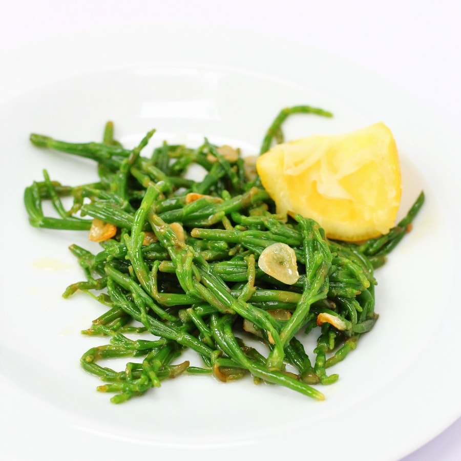 Buttery Samphire Recipe with Garlic and Lemon
