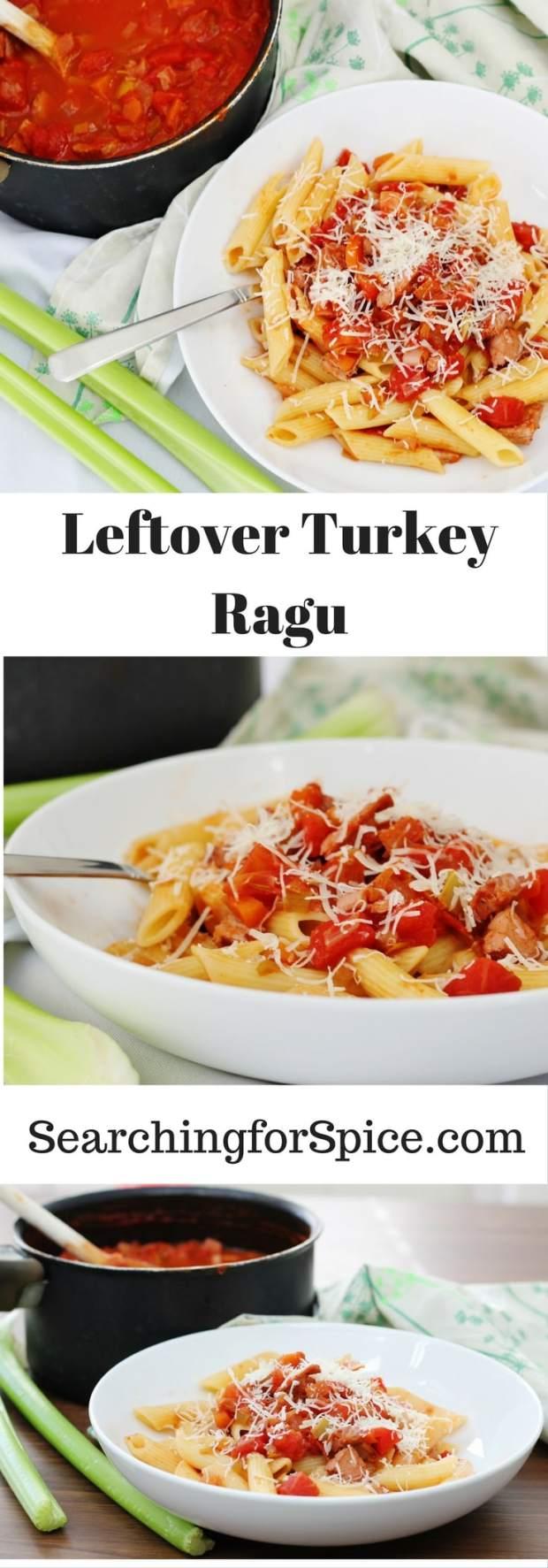 Leftover Turkey Ragu