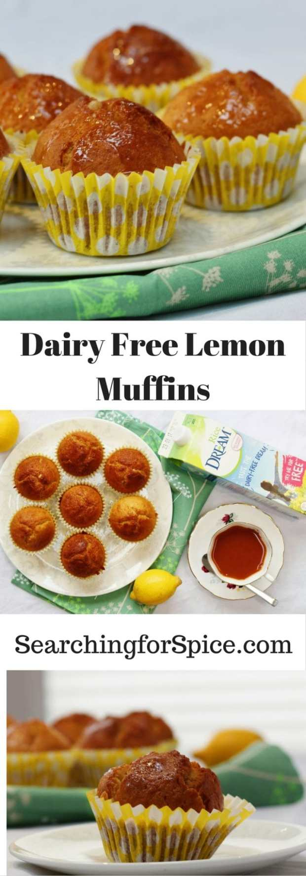 Dairy-Free Lemon Muffins with Rice Dream