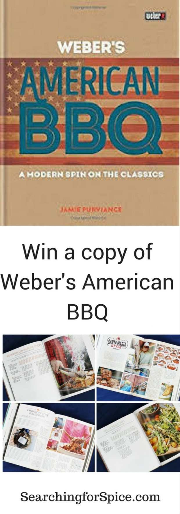 Uk giveaway win a copy of Weber's American BBQ. competition ends 17 April 2017