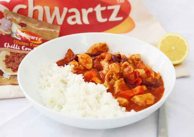Schwartz Gluten Free Chilli Chicken with Chorizo