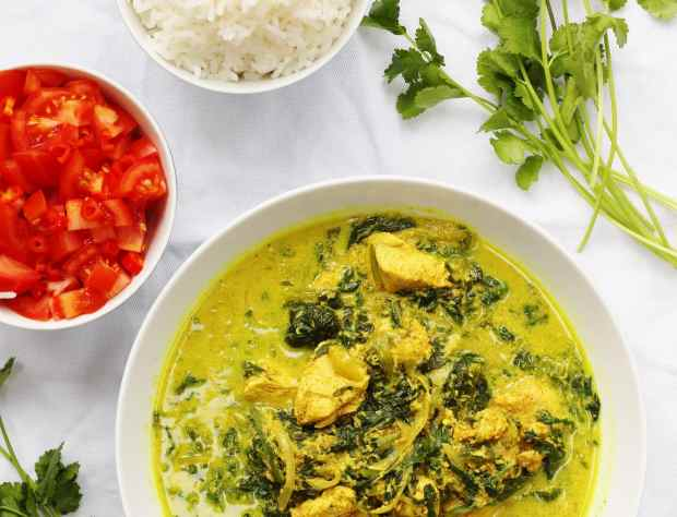 Dairy Free Chicken Curry