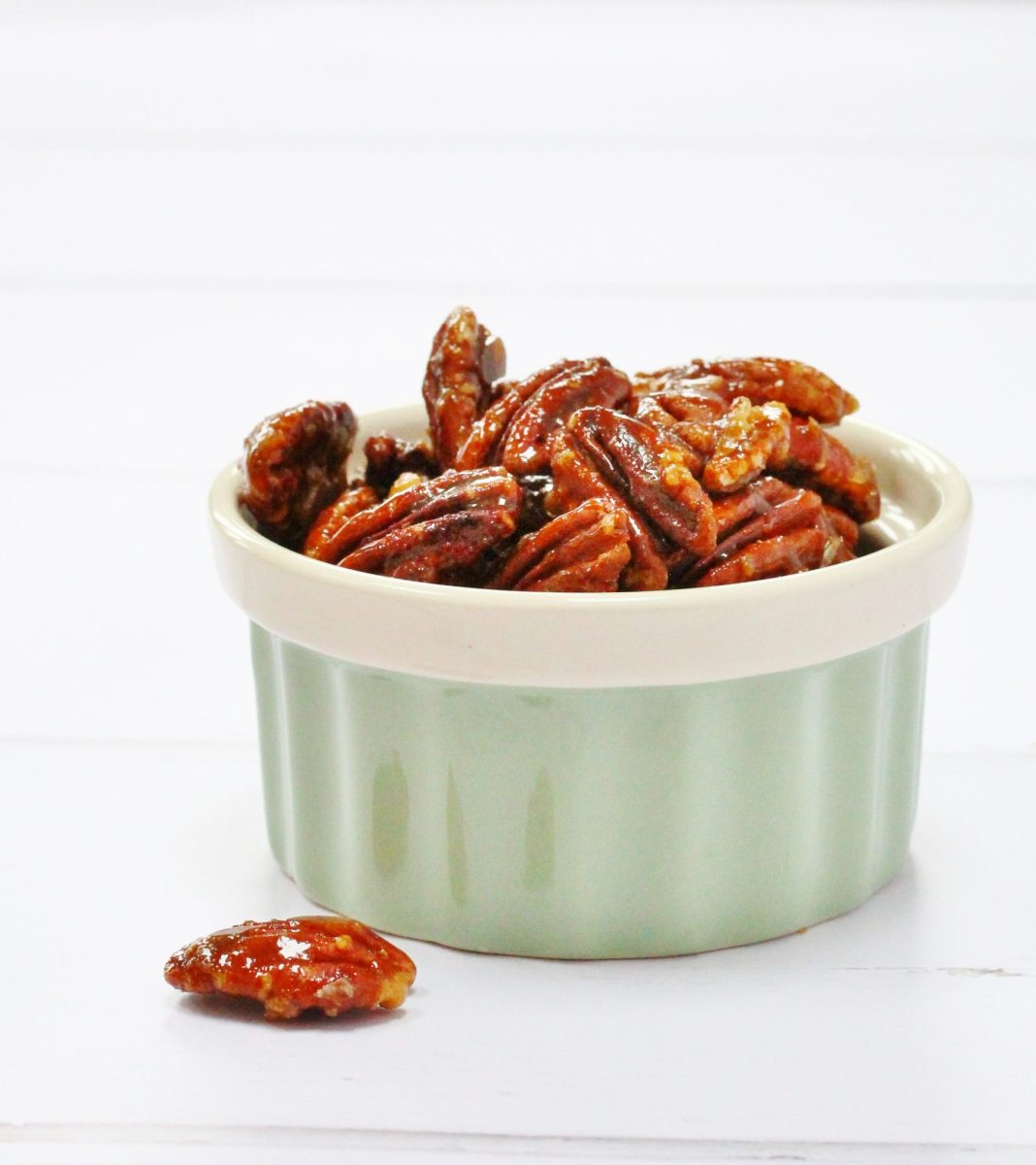 Easy Caramelised Pecans - The Perfect Nutty Snack!