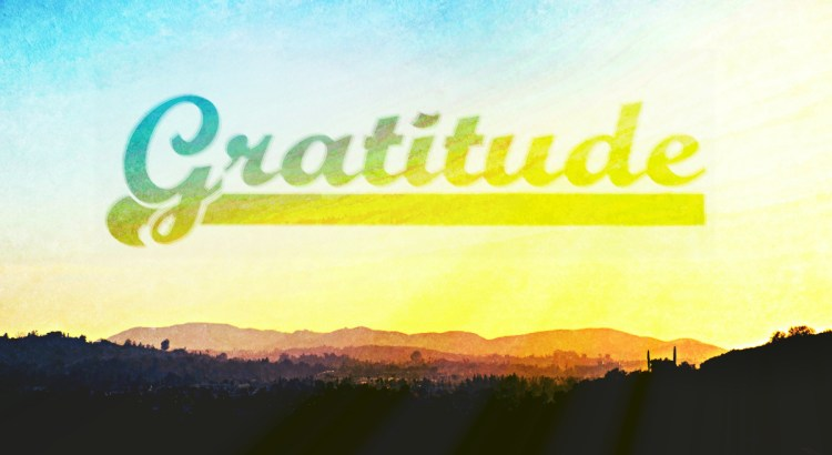 The art of being grateful