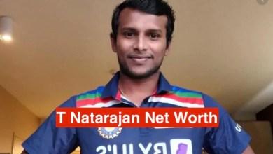 T Natarajan Net Worth