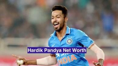 Hardik Pandya Net Worth