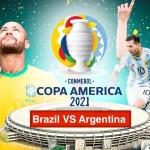 Copa America Live 2021 Brazil VS Argentina Final Match TV Channel List
