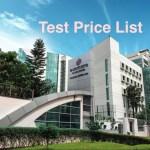 Evercare Hospital Test Price List