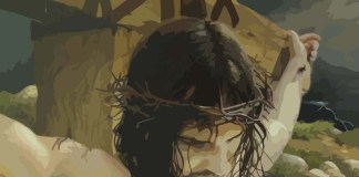 2 Nephi 6 - Jesus Christ being crucified