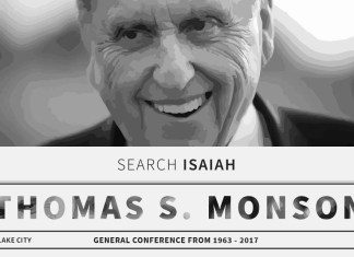 President Thomas S. Monson shares Isaiah Quotes