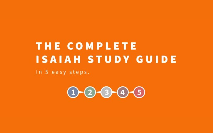 The Complete Isaiah Study Guide