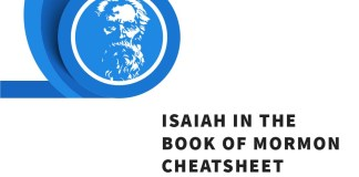 Search Isaiah - Isaiah in the Book of Mormon Cheatsheet