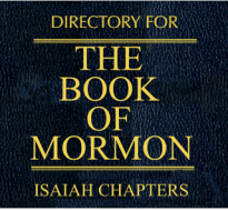 """Jesus cited words from the prophet Isaiah in 3 Nephi 20–22, quoting the Book of Isaiah seven times and paraphrases it once. Then He 3 Ne 23 he admonishes us to """"search these things diligently; for great are the words of ISAIAH."""""""