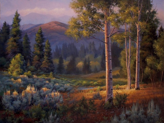 Daren Wilding Painting