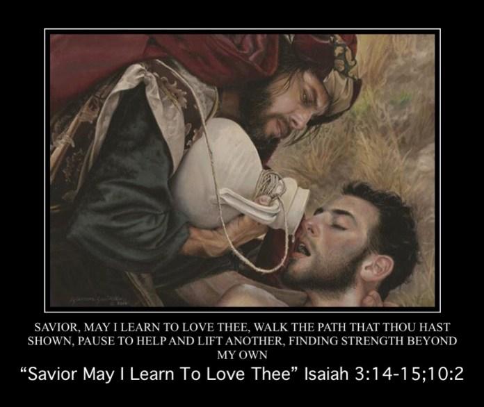 "The Good Samaritan ""Lord I Would Follow Thee"" Meme"