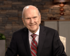 President Nelson at the Youth Devotional