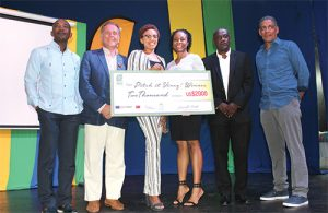 Oliver wins over Invest SVG judges with her Olive Art Designs brand