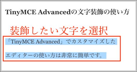 ワードプレスの記事装飾に適したTinyMCE Advancedの設定方法と使い方
